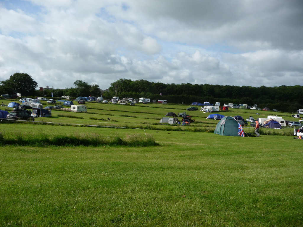 Whittlebury Park after F1 GP
