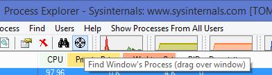 Find Window's Process