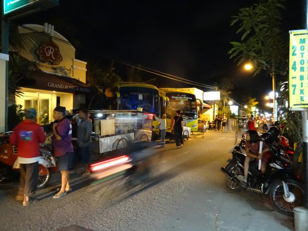 Jl. Prawirotaman and The Grand Rosela Hotel
